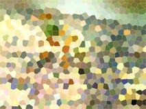 马赛克庭院颜色 库存图片