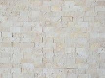 马赛克由自然石头制成 库存图片