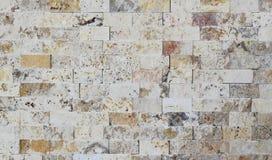 马赛克由自然石头制成 免版税库存照片