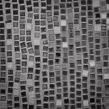 马赛克的黑白样式 免版税图库摄影
