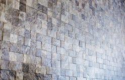 马赛克石墙纹理背景 免版税库存图片
