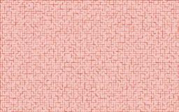 马赛克红颜色样式 抽象背景 免版税库存照片