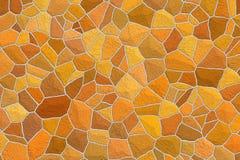马赛克装饰瓦片背景 卫生间和厨房内部 抽象装饰模式 免版税库存照片