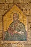 马赛克象5 10在Ialysos上城这被找到在Philerimos附近小山在Ialysos罗得岛 免版税库存图片