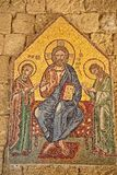 马赛克象6 10在Ialysos上城这被找到在Philerimos附近小山在Ialysos罗得岛 免版税库存照片