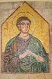 马赛克象9 10在Ialysos上城这被找到在Philerimos附近小山在Ialysos罗得岛 免版税库存照片