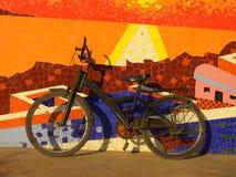 马赛克Chuim村庄Bandra孟买印度 免版税库存照片