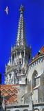 马赛厄斯教会布达佩斯匈牙利 免版税库存照片