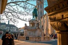 马赛厄斯教会 免版税图库摄影