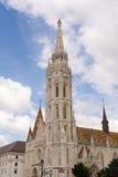 马赛厄斯教会Matyas -布达佩斯 免版税库存照片