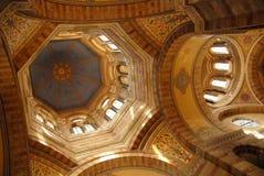 马赛大教堂  图库摄影