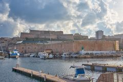 马赛法国圣堡尼古拉斯 免版税库存图片