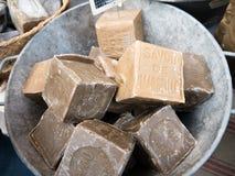 马赛肥皂 库存图片