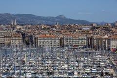 马赛-彻特d'Azur -在法国南部 免版税库存照片