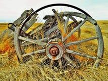 马车车轮 免版税库存图片