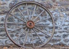 马车车轮 库存照片