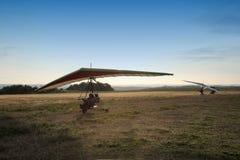 马达停止滑翔机 图库摄影