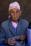 马达加斯加人的妇女 库存图片