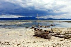 马达加斯加小船 库存图片