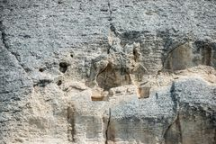 马达拉骑士浮雕,保加利亚 库存图片