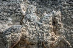 马达拉骑士浮雕,保加利亚 库存照片