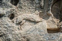 马达拉骑士浮雕,保加利亚 免版税库存图片