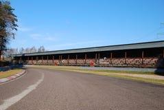 马达老跑道 库存图片