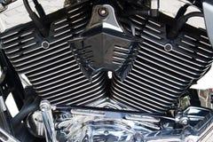 马达自行车细节 免版税库存图片