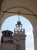 马达马宫在都灵意大利 图库摄影