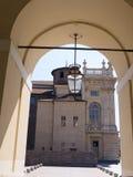 马达马宫在都灵意大利 免版税库存图片