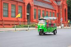 马达tricycle 免版税图库摄影