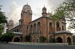 马都拉斯大学,金奈,泰米尔纳德邦,印度 图库摄影