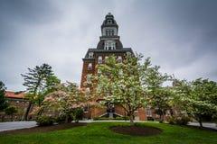 马里兰大学Notre Dame的吉本斯霍尔,在巴尔的摩, 库存照片