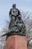 马里兰纪念碑的同盟妇女 库存图片