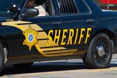 马里科帕县,亚利桑那,警车 免版税图库摄影