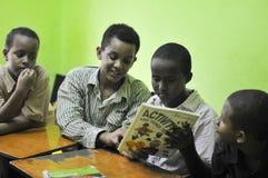 索马里难民 免版税库存图片