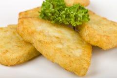 马铃薯煎饼 免版税库存照片