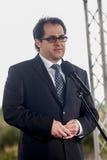 马雷克约瑟夫Grobarczyk,欧洲议会的波兰成员 图库摄影
