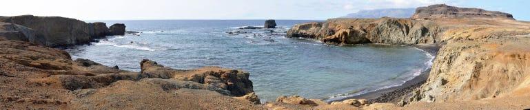 马鞋子形状的海湾在Djeu 库存照片