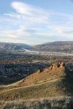 从马鞍岩石4的Wenatchee 库存图片