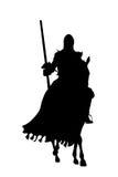 马骑士武器 免版税库存照片