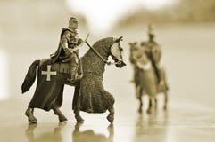 马骑士 库存照片