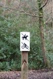 马骑术标志 图库摄影