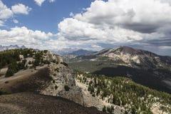 马默斯Mountain夏天视图 免版税库存照片