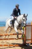 驯马竞争 免版税图库摄影