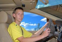 驱动器年轻人 图库摄影