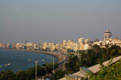 驱动海洋mumbai 免版税库存照片