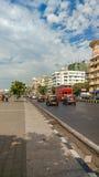 驱动海洋mumbai 库存照片