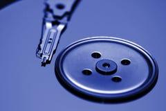 驱动被开张的光盘 免版税图库摄影