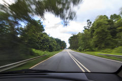 驱动路 免版税库存图片